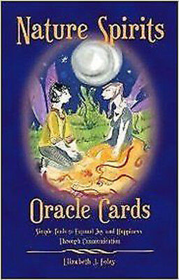 Nature Spirits Oracle Cards by Elizabeth J. Foley (2008, Cards, Flash Cards)