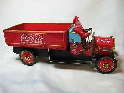 Limited Edition COCA-COLA 1930s TIN DELIVERY TRUCK Toy