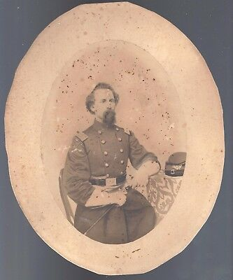 Civil War Photograph of Colonel Charles Russell 10th Connecticut Vols KIA