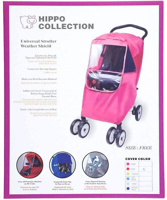Hippo Collection Universal Stroller Weather Shield