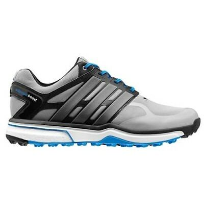 New Men's Adidas Adipower Sport Boost Golf Shoes Grey/White Q46927 - Pick A Size