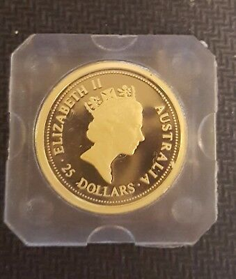 Australian Gold Coins 1/4 and 1/10 ounce 1997 Year of Ox, Perth Mint