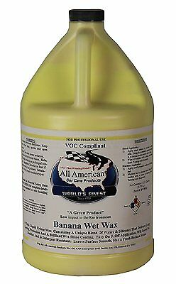 Banana Wax - Premium Synthetic Long Lasting Automotive Wax (1Gallon)