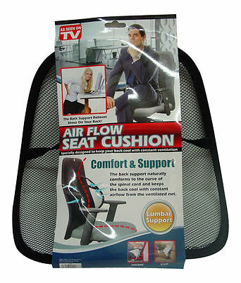 Brand New Air Flow Seat Cushion Office,car,home As Seen On Tv