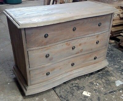 Padma's Plantation Salvaged Wood Chest Of Drawers In Old Grey!