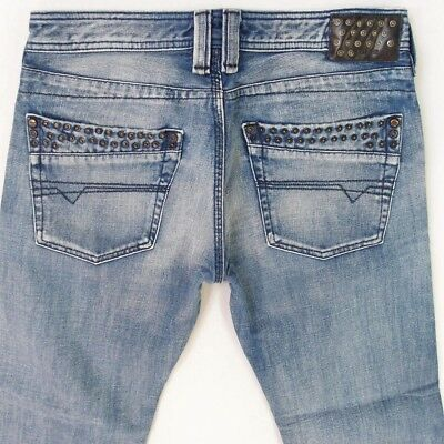 Diesel Jeans Timmen 008AT 8AT Men/'s Studs Pants Blue NEW WOW