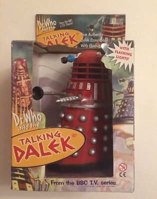 Dr Who And The Daleks Talking Dalek Boxed Product Enterprise Red 16cm