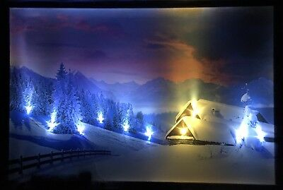 led bild led bilder 65 cm x 45 cm leuchtbild weihnachten. Black Bedroom Furniture Sets. Home Design Ideas