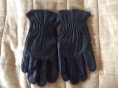 The English Gaiter Company Riding Gloves size Medium BLACK