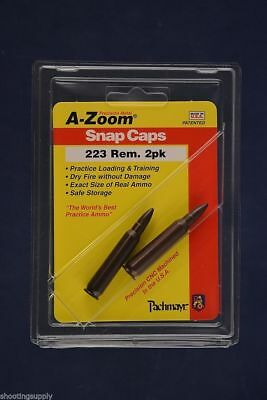 A-Zoom Snap Caps for 223 5.56mm azoom New In Package #12222