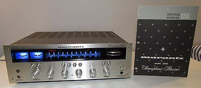 Marantz 2245 Champagne Works Perfect Pro Serviced Led Upgrade + Service Manual