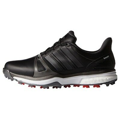 New Men'S Adidas Adipower Boost 2 Black Golf Shoes Q44660/q44664 - Pick A Size