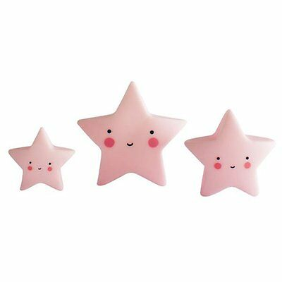 A little lovely Company Sterne Minis Pink (3-teilig)