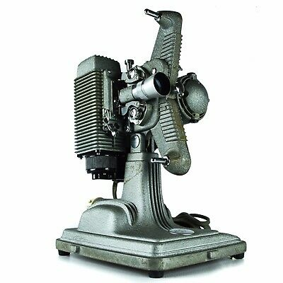 Revere Eight Model 85 8MM Film Movie Projector Vintage Silver Industrial Deco