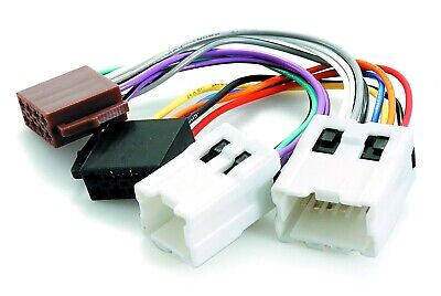 Wiring Harness Adapter For Nissan To Iso Plug   (App0120)