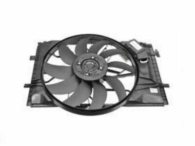 Genuine Mercedes Auxiliary Fan Shroud Behind Radiator Air Duct Engine Fan w202