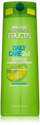 Garnier Fructis Daily Care 2-in-1 Shampoo and Conditioner, 12.5 fl oz