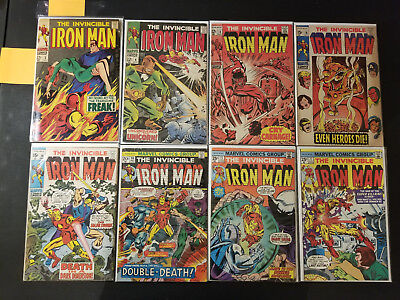 Huge Iron Man Comic Collection Run Lot of 220 Silver Age - Modern 3 - 290 NM MT