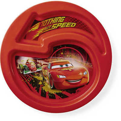 Disney Cars Kids Section Plate - Assorted*