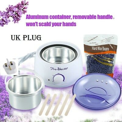 500ML Warmer Handle Pot Wax Waxing Heater Hair Removal Machine +beans hot  set