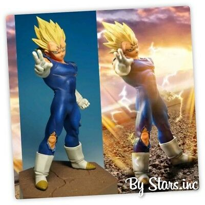 New Dragon Ball Z Super Saiyan Majin Vegeta PVC Action Figure 12cm Collection