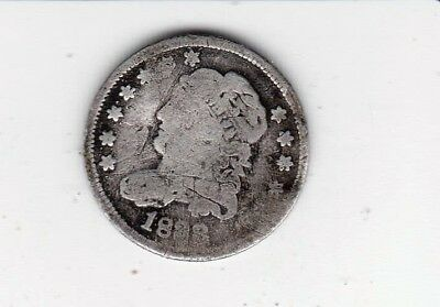 1833 Bust Style Half Dime--Obsolete Coinage -Free Shipping