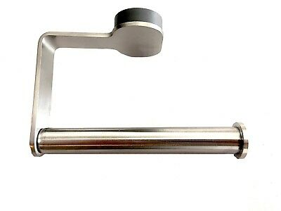 Ikea Of Sweden Brogrund Toilet Paper Holder Brushed Stainless Steel Modern New
