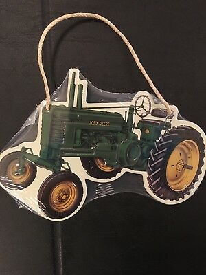 John Deere Tractor ~ Tin Ornaments ~ Approximately ~ 4.5 X 6 inches: Super Cute