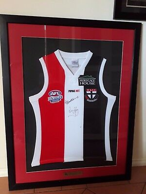 Heritage round St Kilda signed football Jumper. Please note pick up only