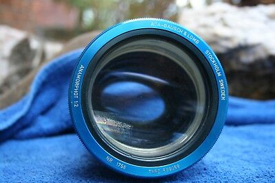 Bausch and Lomb Anamorphot (Anamorphic) lens