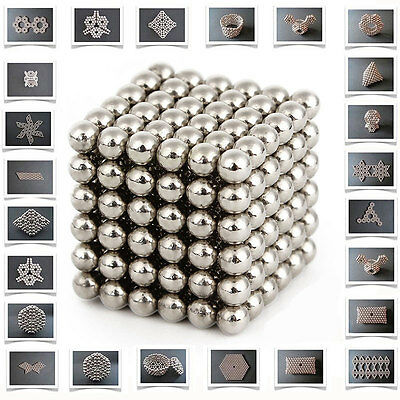 3mm Magnet Balls Buckyballs Magic Beads 3D Puzzle Sphere Kids fun Toys Xmas Gift