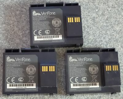 3 USED Verifone Vx610 Battery Model 23326-04-R