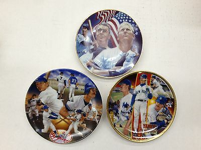 3 Sports Impressions Mini Plates Yankee Tradition, Yankee Pride, Stars & Stripes