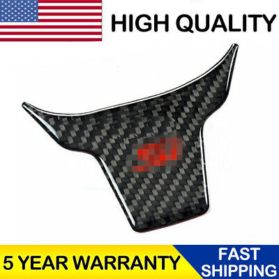 For Honda Civic Si 2016-2017 Carbon Fiber Inner Steering Wheel Cover Trim Refit