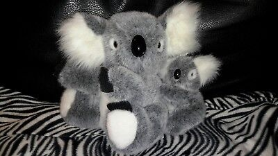 Australia Cute Koala Bear And Baby Stuffed Plush Animal Beta Toys