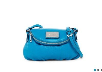 Nwt Marc By Marc Jacobs Classic Mini Leather  Messenger Bag , $298