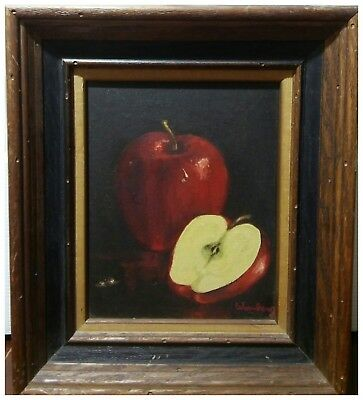 20th Century Weinberg Still Life framed oil painting on canvas SIGNED
