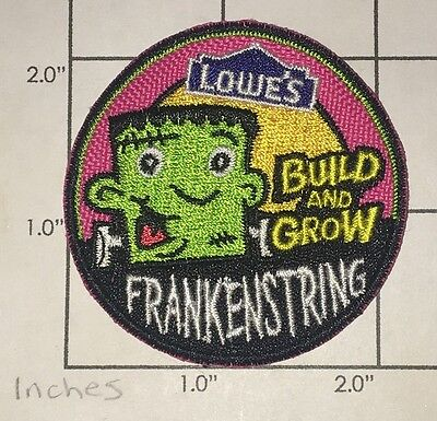 Lowe's Build and Grow Patch - Frankenstring