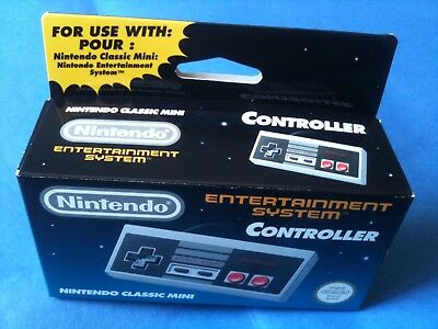 Genuine Original Official Nintendo NES Classic mini controller brand new