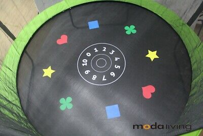 NEW Trampoline replacement Round Jumping Game Mat 10FT 64 v-ring
