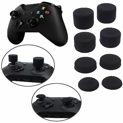8pcs/Set Silicone Thumb Joystick Grip Cover Cap Protector for Xbox One Controler