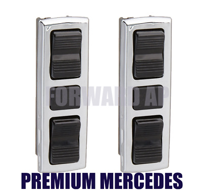 Front Right and Left Door Dual Window Switch Mercedes R107 W108 W114 W116 W123
