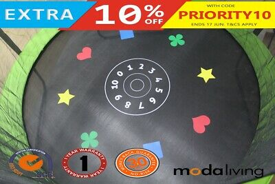 NEW Trampoline replacement Round Jumping Game Mat 12FT 72 v-ring
