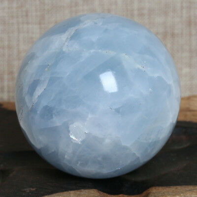 A1482-47mm148g Natural blue crystal ball polishing primitive stone mineral speci