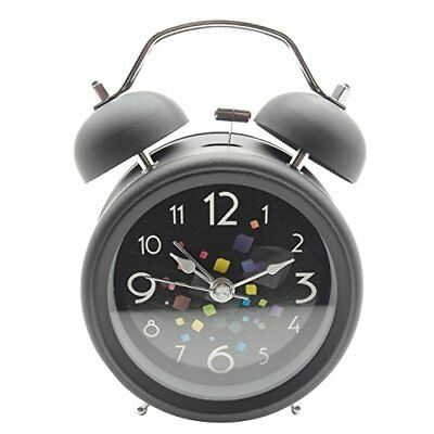 Loud Alarm Clock Night Light For Heavy Sleepers With Silent And No Ticking Sound