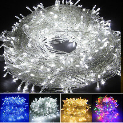 Waterproof 100-500 LED String Fairy Lights Christmas Tree Party Events Garden