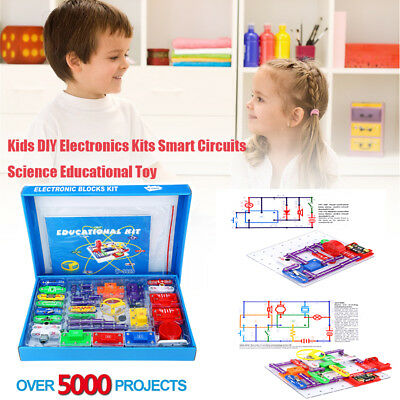 W-5889 Electronics Kits Smart Circuits Kids Science Educational Toy 5000Projects
