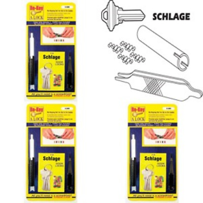 """Prime-Line Products E 2402 Re-Key A Lock Kit Schlage Type """"C"""" 5-Pin Tumbler"""