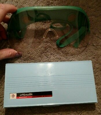 🤓goggles And Hamilton Biology Dissection Kit **free Shipping**