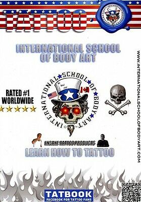 Learn How to Tattoo: Beginner to Intermediate [4 Dis (2012, DVD NIEUW)2 DISC SET